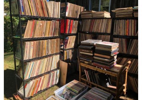 6000 VINYL RECORD ALBUMS