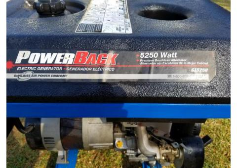 Companion PowerBack 5250 Watt Portable Generator
